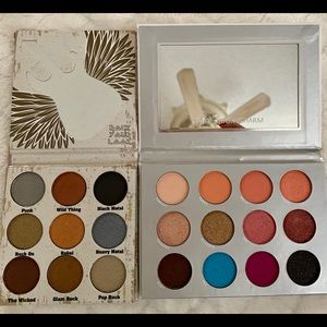 Pur and Crown eyeshadow palettes- new and unused